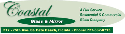 Coastal Glass and Mirror Banner
